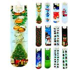 Fashion Snowman Christmas Series Design Women Men Cotton Blend Gift Socks