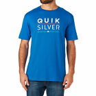 Quiksilver T-shirts - Quiksilver Fully Stacked T-shirt - Turkish Sea