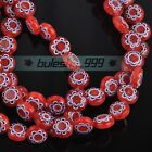 Wholesale 8mm Round Millefiori Glass Charms Loose Spacer Beads Jewelry Findings