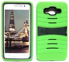 NEON GREEN & ARMY GREEN U-Case Hybrid Cover Case for Samsung Galaxy Grand Prime