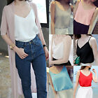 Sexy Fashion Women Summer Loose Sleeveless Casual Tank T-Shirt Blouse Top Vest