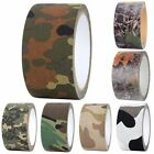 10Mx5CM Military Camouflage Camo Tape Stealth Wrap Hunting Outdoor Waterproof