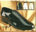 NEW Mens Jazz Tuxedo Dress Shoes Black, White, Ivory 6.5 - 16 Width Medium (M, D