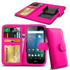 Clip On PU Leather Flip Wallet Book Case Cover For Lenovo A660