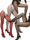 Ladies Sexy Fishnet Tights Adult Net Pattern Hosiery Pantyhose Fancy Dress Women