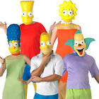 The Simpsons Adults Fancy Dress TV Cartoon Character Mens Womens Ladies Costume