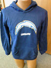 NFL San Diego Chargers NEW hooded sweatshirt Youth Sizes S-XL NWT Team colors $21.44 USD on eBay