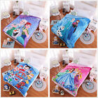 Frozen/Paw Patrol New Warm Mink Comfort Blanket Single Size Bed Linen Cartoon