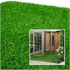 Artificial Grass Fake Grass for Garden Lawn Turf Natural Green Colour