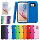 Heavy Duty Hybrid Rugged Rubber Hard Case Cover Skin For SAMSUNG GALAXY S6 Phone