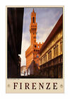 Firenze - Reproduction Vintage Italian Travel Poster