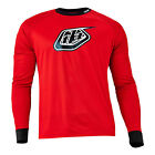 2016 Troy Lee Designs TLD Moto Jersey RED BMX Mountain Cycling 32500340