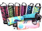 NEW DC SHOES or ROXY ZIPPED TANK PENCIL CASE COSMETIC BAG for SCHOOL or COLLEGE
