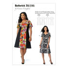 NEW | Butterick Connie Crawford Sewing Pattern | B6186 | Misses'/Women's Dress