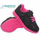 NEW GIRL ULTRA LIGHT WEIGHT TRAINERS KIDS TRAINERS BOYS SCHOOL SHOES BOOTS SIZES