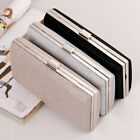 NEW Womens Shiny Evening Bag Handbag Wedding Party Ladies Clutch Chain Bag Purse