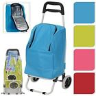 Large Cooler Bag Insulated Shopping Trolley Cart Collapsible Lightweight Folding