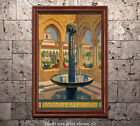 Monreale Palermo - Reproduction Vintage Italian Travel Poster