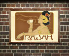 Rajah Coffee - Vintage Advertisment Poster/Print