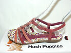 HUSH PUPPIES 'NISHI' PURPLE/PINK LEATHER SANDALS. SLIGHTLY WIDER FIT. BNIB
