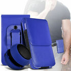 Premium PU Leather Belt Pouch Holster Case & Speaker For Samsung Galaxy On7