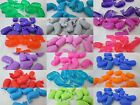 10 - 25mm Novelty Plastic Whale Pony Beads - Color Choice