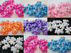 10 Novelty 25mm Pearl Teddy Bear Pony Beads - Color Choice