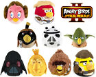 "Angry Birds Soft Toys 8"" Official Star Wars Edition Plush 0+ New"