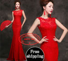 FS020 Formal Wedding Bridal Gown Evening Prom Party Bridesmaid dresses Ballgown