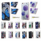 Stylish Printed Transparent Edges Case Soft TPU Rubber Silicone Cover For Phones