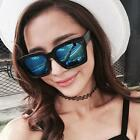 Womens Mens Sunglasses Square Plastic Frame UV400 Outdoor Eyewear Eyeglasses Hot