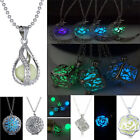 Luminous Punk Pretty Magic Fairy Locket Glow In The Dark Chain Necklace 26 Style