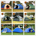 Large Home Family Camping Tent Outdoor Windproof Backpacking Tents 4Season