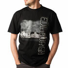 Safon Clothing Men's View Edinburgh Black T-Shirt