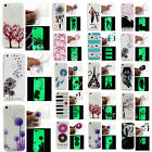 Fashion Pattern Night Luminous Glow Soft TPU Gel Back Case Cover For Smartphones