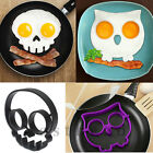 Curious Divine Skull Owl Egg Fried Shaped Mould Shaper Ring Kitchen Cooking Tool