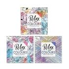 Adult Colouring Colour Books Anti Stress Calm Therapy 30 Perforated Pages