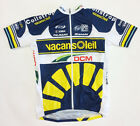 2013 Vacansoleil Short Sleeve Cycling Jersey - Made in Italy by Santini