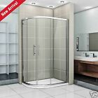 Offset Quadrant Shower Enclosure and Tray Easy Clean 8mm Glass Bathroom Cubicle