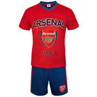 Arsenal FC Official Soccer Gift Mens Loungewear Short Pajamas