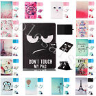 Super Synthetic Leather Case For iPad Samsung Tablet Card Slots Stand Flip Cover