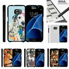For Samsung Galaxy S7| Slim Fit Hard 2 Piece Case Close up of Animals
