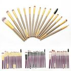 15pcs Makeup Brush Powder Foundation Mascara Eyeliner Cosmetic Brushes Set Tools