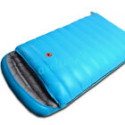 Envelope Duck Down Feather Double Person Sleeping Bag For Outdoor Camping Hiking