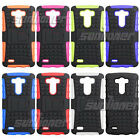 Heavy Duty Tough Shockproof Stand Hard Case for LG G3 D850 D851 D855 F400S D856
