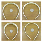 4 x PLASTIC HAIRBAND BLANKS 9mm, 12mm or 24mm *3 COLOURS* ALICE HAIR ACCESSORY