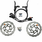 New Shimano BR BL M315 Hydraulic Disc Brake Set Pre-Filled with 160mm Rotors