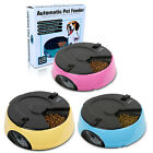6 Meal LCD Screen Electronic Automatic Pet Feeder Dispenser for Dog Cat