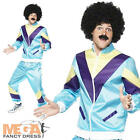 Deluxe Shell Suit 80's Scouser Fancy Dress Mens Costume