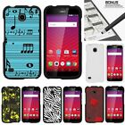 For Huawei Union| Slim Fit Hard 2 Piece Case Musical Blues